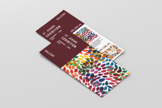 DL flyer, full colour printing on premium stock one side or two