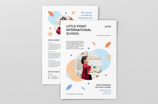 A4 flyers full colour, single or double sided on premium paper or card stock