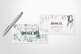 Recycled business cards, printed full-colour one or two sides on 100% recycled card