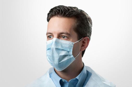 Surgical face masks, disposable