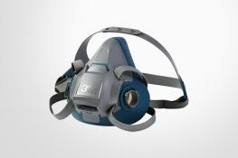 3M 7500 series half face re-usable respirator face mask