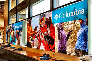 matrix frames, aluminium lightboxes, tension fabric frames, exhibitions, trade shows, permanent display, easily portable