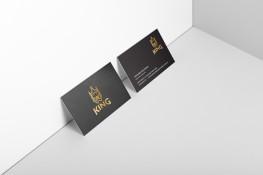 Metallic Business Cards, high bulk artboard, matt celloglaze both sides, metallic gold or silver ink one or both sides