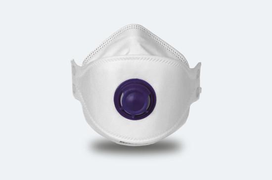 P2 Dust Mask, foam nose seal, adjustable nose piece, adjustable headband