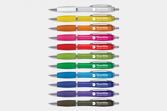 Vistro Pen, Translucent, printed one, two or full colour