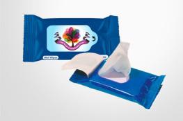 anti-bacterial wipes, 10 per pack, 75% alcohol