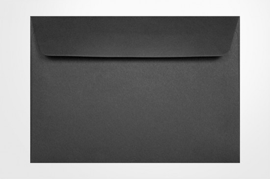 Specialty envelopes Black 125gsm Wallet