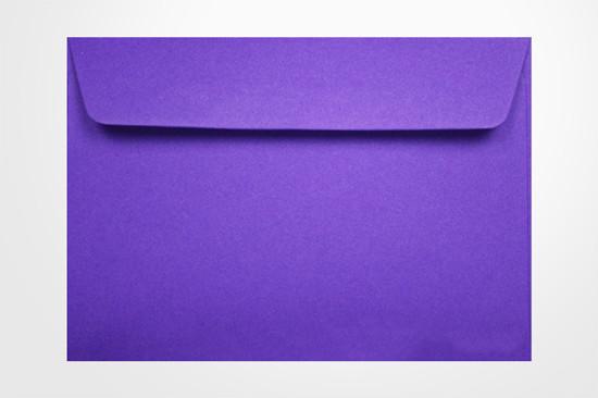 specialty envelopes Colorplan purple 135gsm Wallet