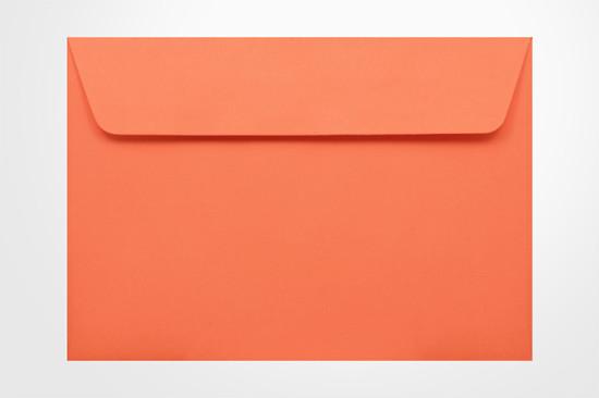 Specialty envelopes Kaskad Fantail Orange 100gsm Wallet Envelopes