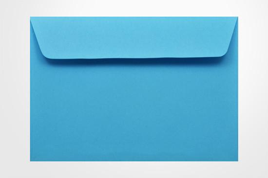 Specialty envelopes Kaskad Peacock Blue 100gsm Wallet Envelopes