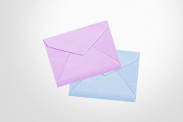 specialty envelopes, range of colours, wallet or banker style