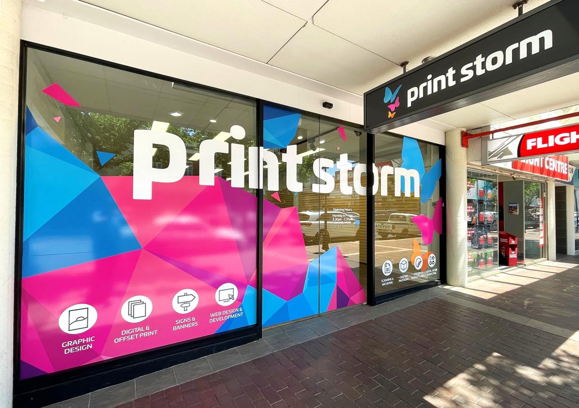Print Storm's Dubbo Store | Design, Print & Signs
