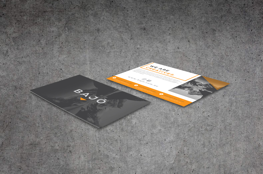 A6 Flyers Full-colour Single or Double Sided on premium paper or card stock
