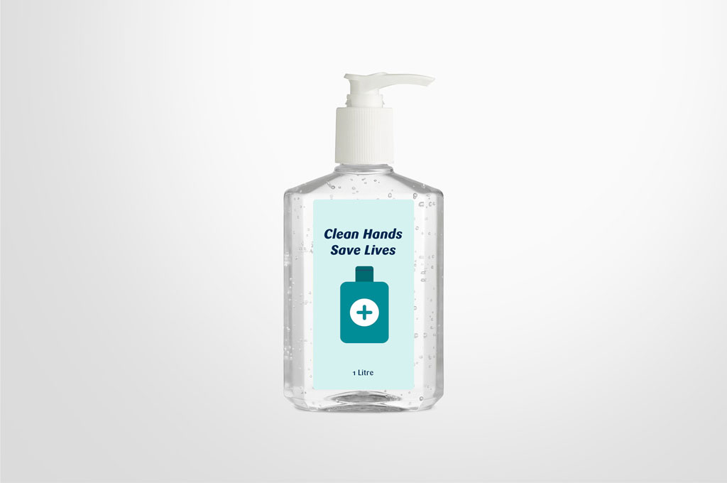 Hand sanitiser medical grade 1 litre, alcohol