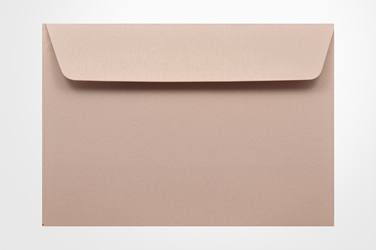 Specialty envelopes Curious Metallic Nude 120gsm Wallet Envelopes