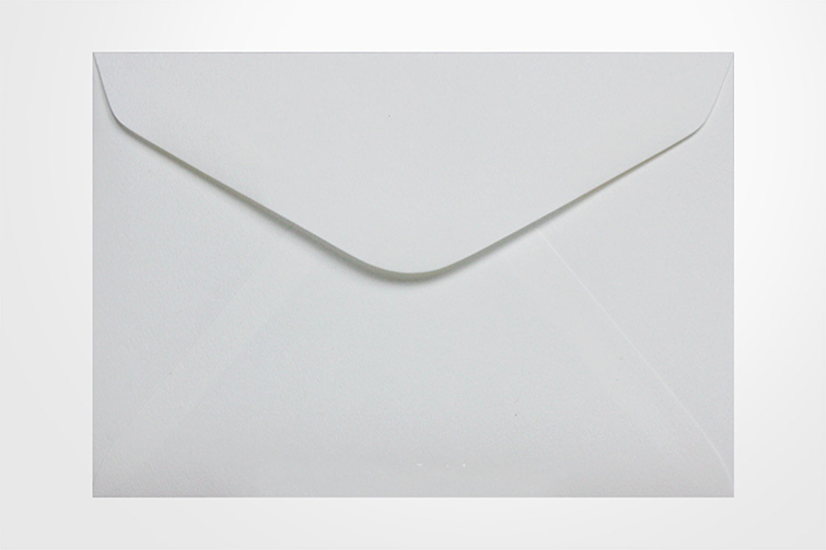 Specialty envelopes Via Felt Bright White 104gsm Banker Envelopes